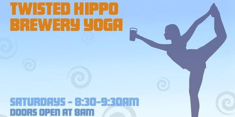 Brewery Yoga at Twisted Hippo  tickets