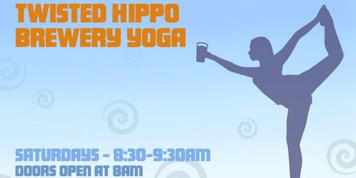 Brewery Yoga at Twisted Hippo