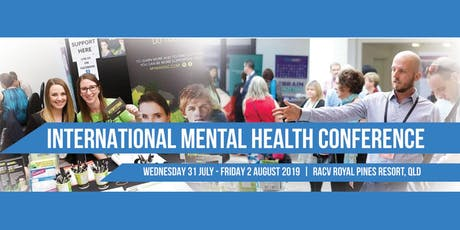 2019 International Mental Health Conference tickets