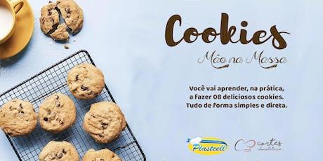 Curso Prático de Cookies em Natal - Cortés Chocolateria bilhetes