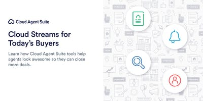 Cloud Streams for Today's Buyers with Cloud Agent Suite