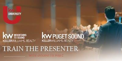 Train the Presenter with Antoinette Perez