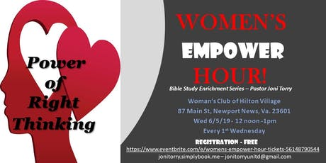 Women's Empower Hour  tickets