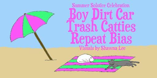 Boy Dirt Car, Trash Catties, and Repeat Bias