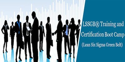 Lean Six Sigma Green Belt (LSSGB) Certification Course in Irvine, CA