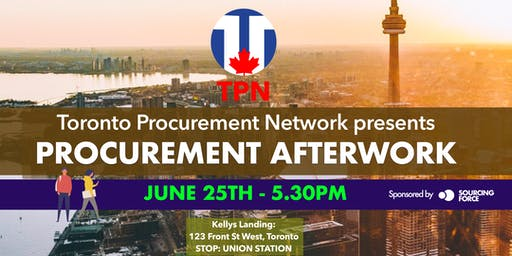 Toronto Procurement Afterwork