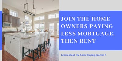 Home Buyers Breakfast Event (Option to pay less mortgage then rent)
