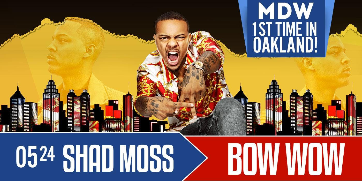 SHAD MOSS AKA BOW WOW  : FIRST TIME IN OAKLAND (MDW PARTY)