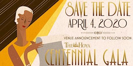 The Hoya: Centennial Gala tickets