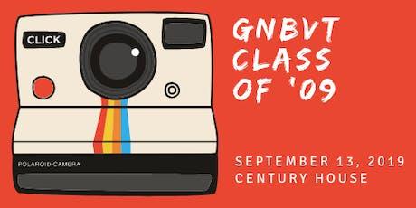 GNBVT CLASS OF '09 - 10 Year Class Reunion tickets