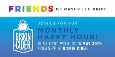 Join us for a pint of Cider! Kick off Pride Month at Diskin in WeHo!