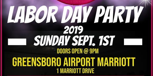 DJ JIMMY JAM LABOR DAY PARTY 2019