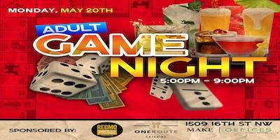 ADULT GAME NIGHT 5.20.19