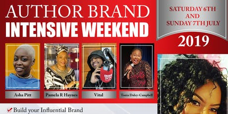 Author Brand Intensive Weekend tickets