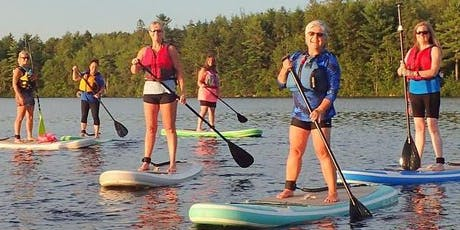 Guided Group Stand Up Paddle Boarding Evening (6-12 people) tickets