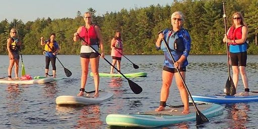 Guided Group Stand Up Paddle Boarding Evening (6-12 people)