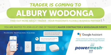 Trader is coming to ALBURY WODONGA! tickets