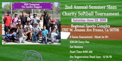 2nd Annual Summer Slam Softball Tournament