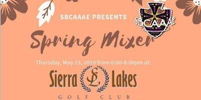 SBCAAAE Spring Mixer
