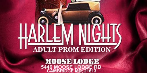 "ADULT PROM ""HARLEM NIGHTS"""
