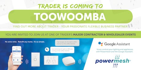 Trader is coming to TOOWOOMBA! tickets