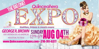 Houston Quinceanera Expo 08-04-2019 at George R. Brown Tickets At The Door $ 9.99 Dollars