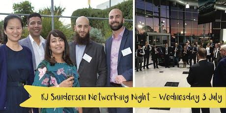 RJ Sanderson & Associates Networking Night tickets