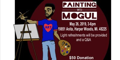 """Each One Teach One Presents: Painting """"For A Purpose"""" With Mogul"""