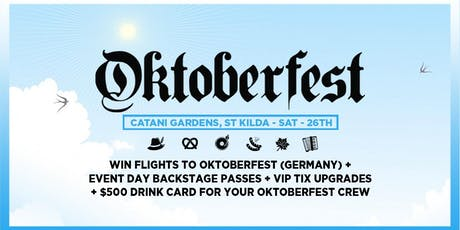 Oktoberfest 2019 Ft. Thundamentals, John Course (Classic House) & Sunshine tickets