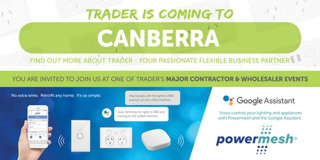 Trader is coming to CANBERRA! tickets