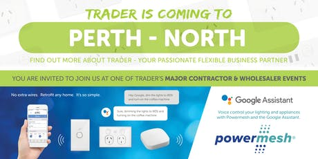 Trader is coming to PERTH NORTH! tickets