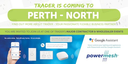 Trader is coming to PERTH NORTH!