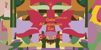 Caos Apresenta Gabe (Long Set)