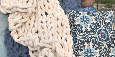 Hand-Knit Chunky Blanket Workshop