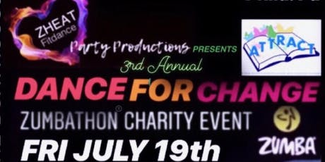 3rd Annual Dance for Change ZUMBATHON tickets