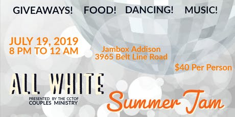All White Summer Jam tickets