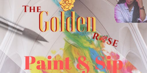The Golden Rose - (JERSEY) Paint and Sip