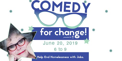 Putting Comedy to Work for Change