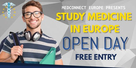 Study Medicine in Europe Open Day tickets