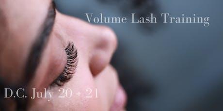 Volume Lash Training tickets