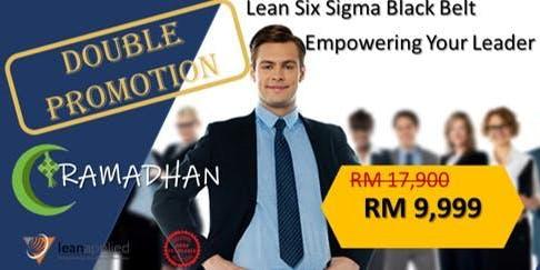 Lean Six Sigma Black Belt - Public Program PROMO