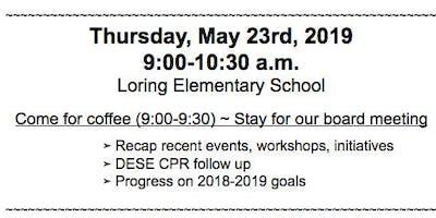 Sudbury SEPAC Board Meeting & Parent Coffee