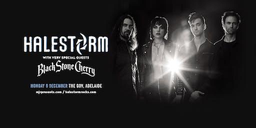 Halestorm + Black Stone Cherry - Adelaide
