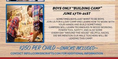 Kid's Summer Camp - Boys Building Camp
