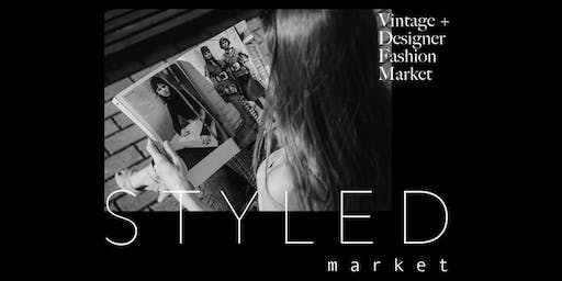 STYLED Market #4! FASHION WEEK Vintage & Designer Fashion Market in Adelaide.