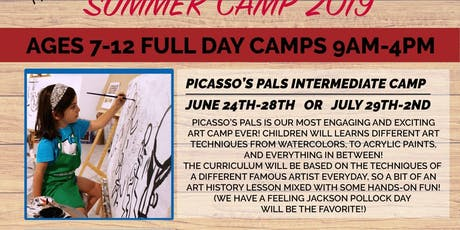 Kid's Summer Camp - Picasso's Pal's tickets