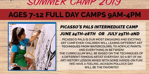 Kid's Summer Camp - Picasso's Pal's