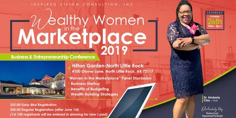 """Wealthy Women in the Marketplace"" 2019 entradas"