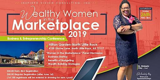 """Wealthy Women in the Marketplace"" 2019"