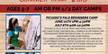 Kid's Summer Camp - Picasso's Pals tickets
